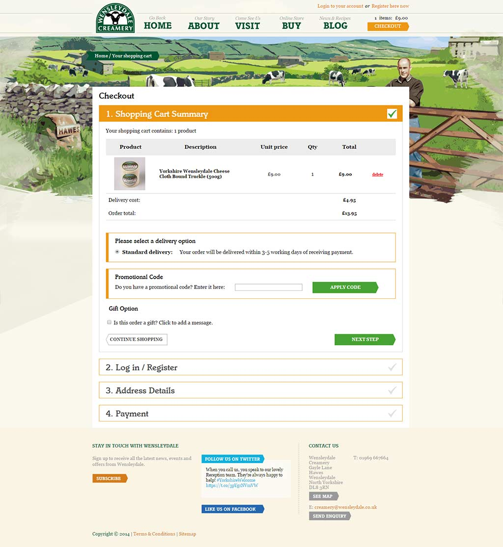 wensleydale-one-page-checkout