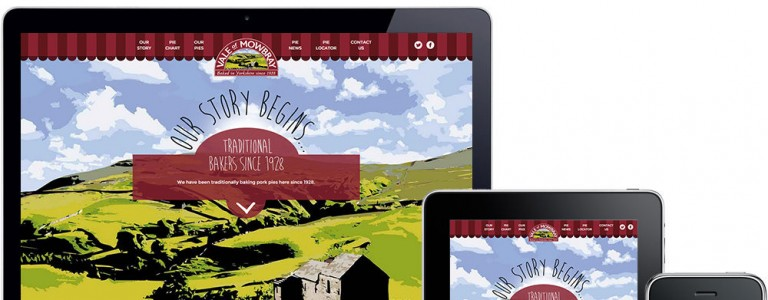 Vale of Mowbray, gets a launch online