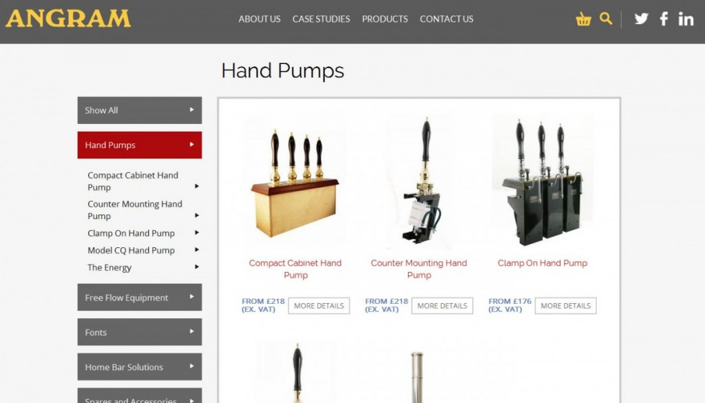 angram hand pump