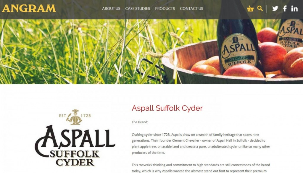 aspall screenshot