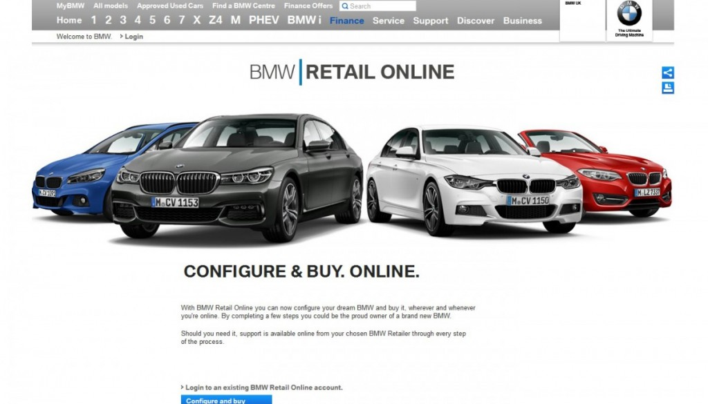 bmw cropped screen