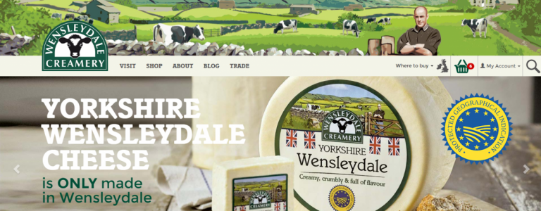 We've launched Yorkshire's favourite cheese website!