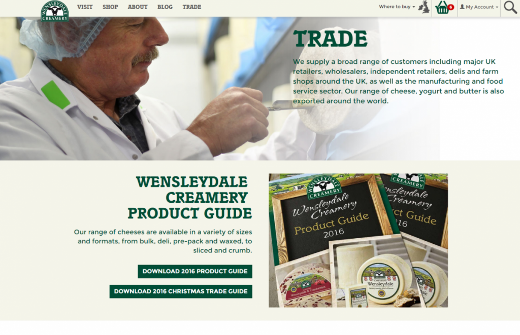wensleydale-trade