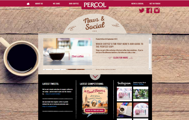 percol screenshot